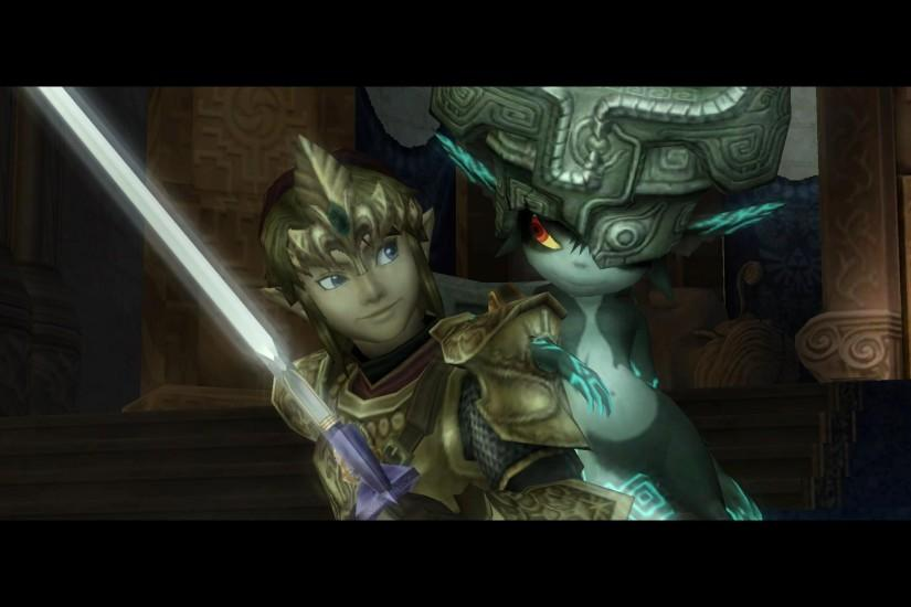 My favorite Twilight Princess Screenshot i took in-game! [LINK & MIDNA]