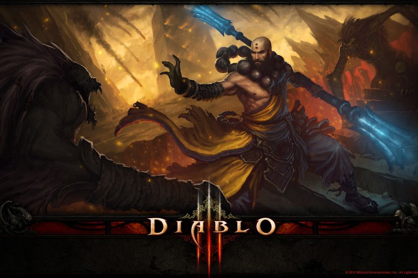 Diablo III Wallpaper 013 – Monk