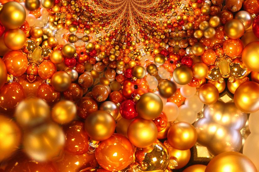 another christmas background of ball or bauble decoration