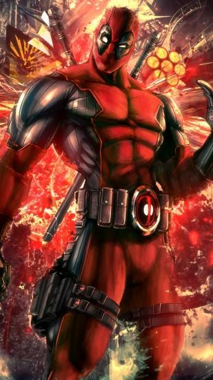 Preview wallpaper deadpool, wade wilson, mercenary, anti-hero, high moon  studios
