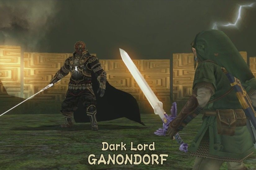 Dark Lord GANONDORF Boss Fight - The Legend of Zelda: Twilight Princess HD  - YouTube