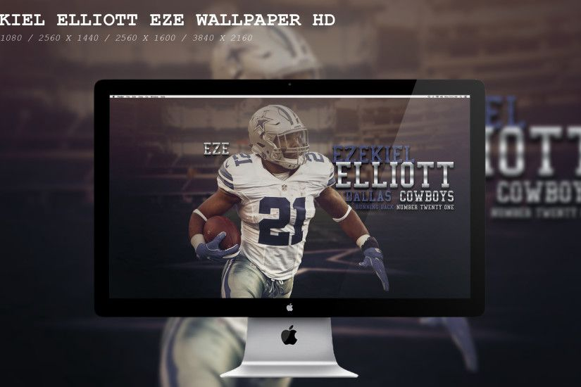 ... Ezekiel Elliott Eze Wallpaper HD by BeAware8