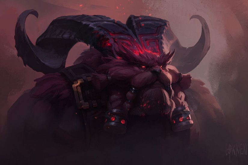 Ornn Promo HD Wallpaper Background Official Art Artwork League of Legends  lol (2)