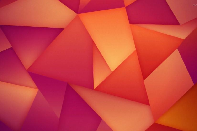Orange and purple polygons wallpaper 1920x1200 jpg