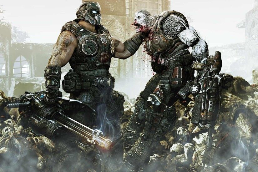 Gears of War 3 HD wallpaper 1920x1440