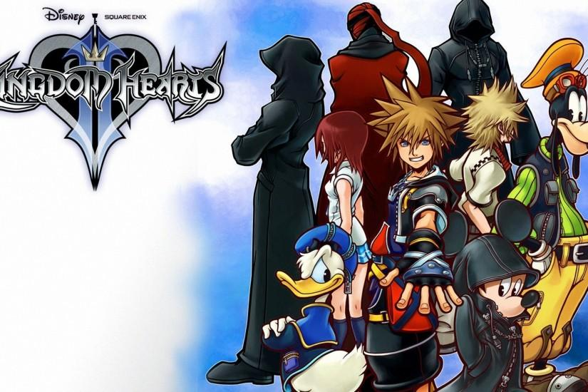 Kingdom Hearts II protagonists 1920x1080 Wallpapers, 1920x1080 .