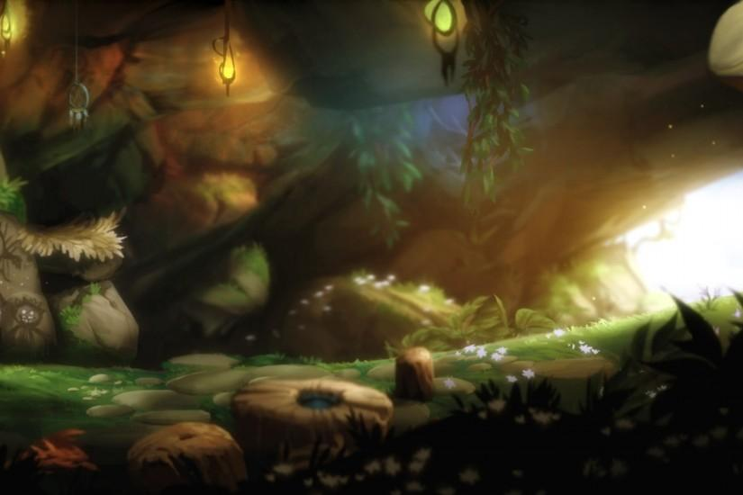 best ori and the blind forest wallpaper 3840x1080