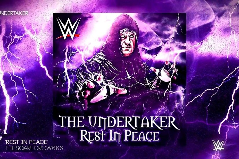 WWE The UnderTaker New Music & Theme Song ''Rest In Peace Full'' V2 [ 2017  ] HD - YouTube