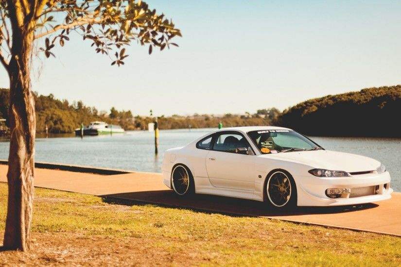 1920x1080 Wallpaper nissan silvia, s15, nissan, tuning, coupe, embankment