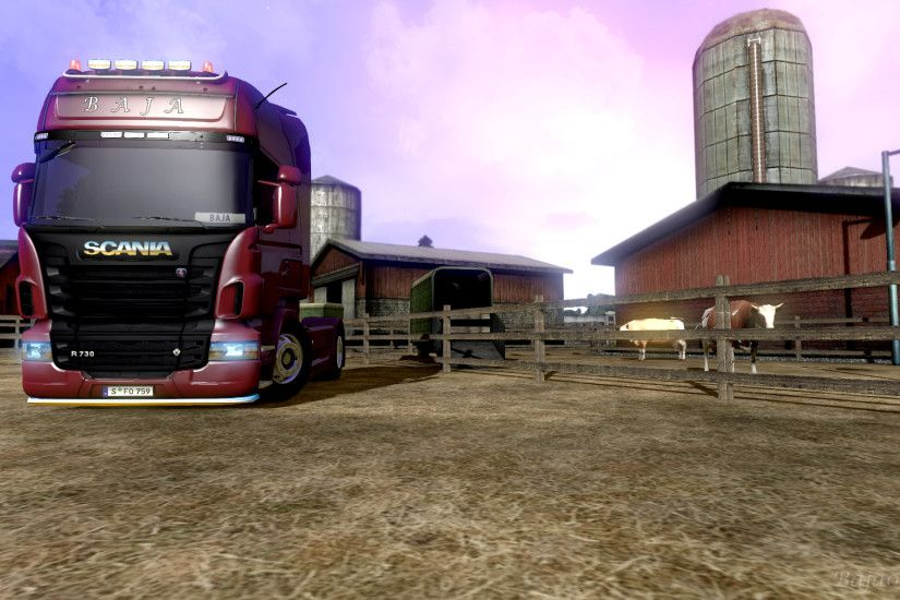 ETS 2 Scania by Baja002 ETS 2 Scania by Baja002