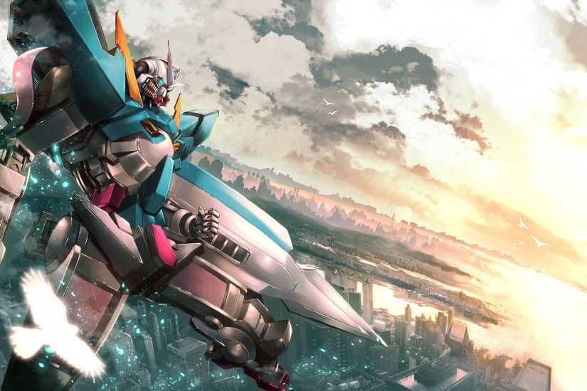 1920x1200 Download Gundam Exia wallpapers to your cell phone exia gundam |  Wallpapers 4k | Pinterest