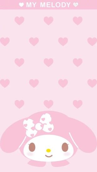 Wallpaper Backgrounds, Wallpaper Patterns, Iphone Wallpapers, My Melody  Wallpaper, Sanrio Wallpaper, Pastel Walls, Panda, Tie, Sanrio Hello Kitty