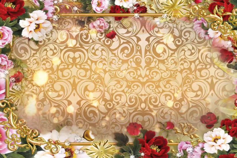 Multicolored Flowers - Abstract Wedding Background 06 Stock Video Footage -  VideoBlocks