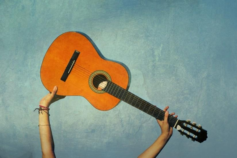 music acoustic guitars wallpaper