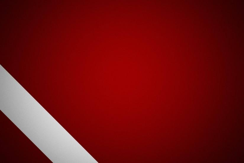 White And Red Abstract Wallpaper