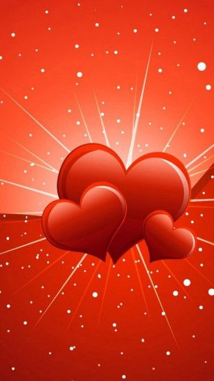 Big red heart Samsung Galaxy S5 Wallpaper