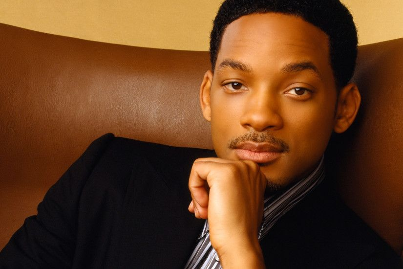 Preview wallpaper will smith, actor, chair, mustache 3840x2160