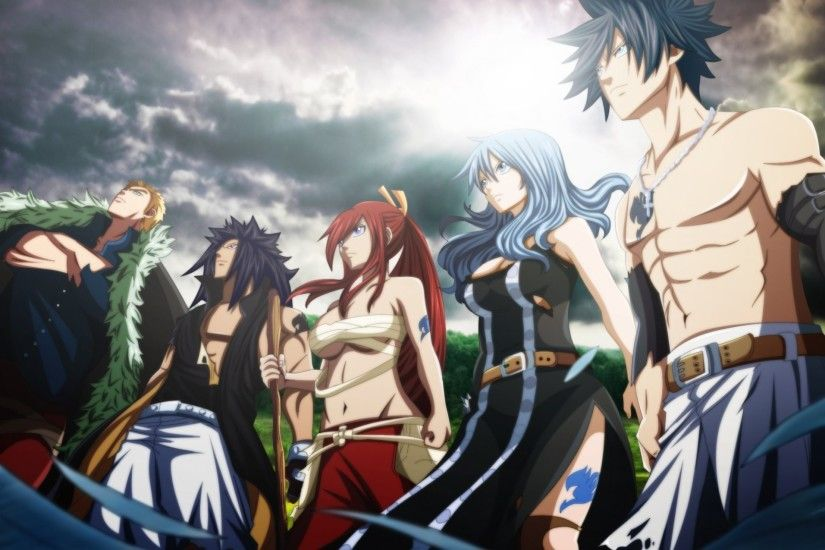 art futuretabs fairy tail anime tale about the fairy tail erza scarlet gray  fullbuster juvia loxar