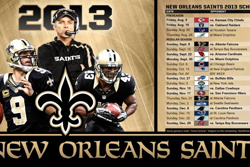 1920x1200 Enjoy this new New Orleans Saints desktop background | New Orleans  .