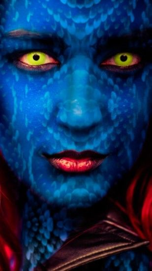 One of the main negative characters from X-Men comics is Mystique and this  photo portrait was made by talented photographer - John Chandler · With ...