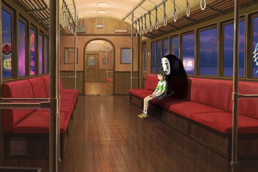 Background In High Quality - spirited away