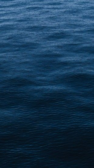 Wave Dark Ocean Sea Blue Pattern #iPhone #6 #plus #wallpaper
