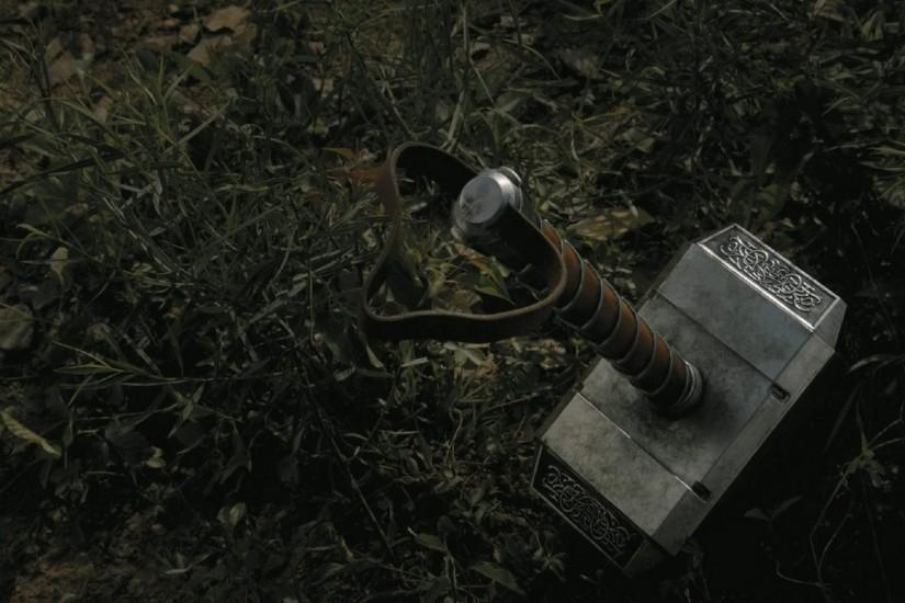Mjolnir The Hammer Of Thor Wallpaper