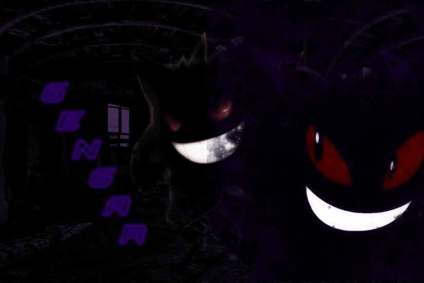 amazing gengar wallpaper 1920x1200 for windows 7