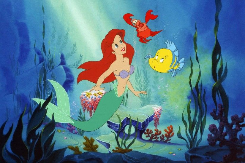 48 The Little Mermaid HD Wallpapers | Backgrounds - Wallpaper Abyss