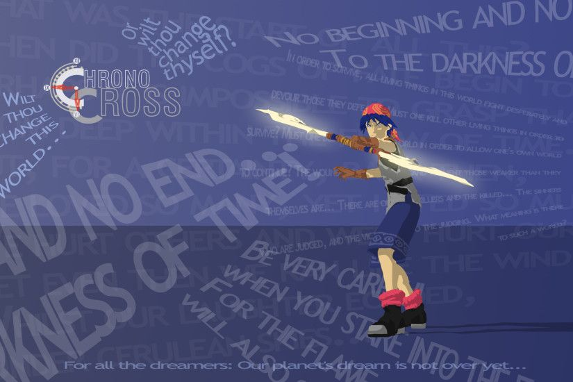 Chrono Cross Wallpaper by Bewilderbeast Chrono Cross Wallpaper by  Bewilderbeast