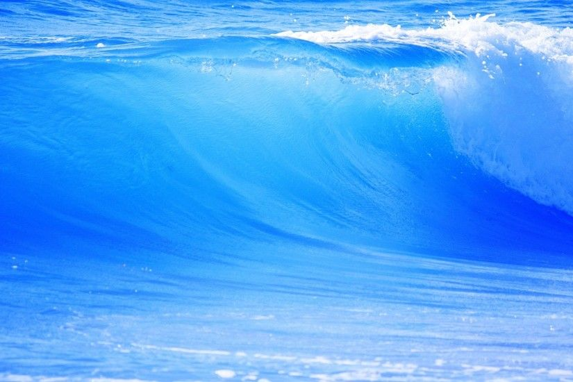 1920x1080 Wallpaper big, blue, wave, sea