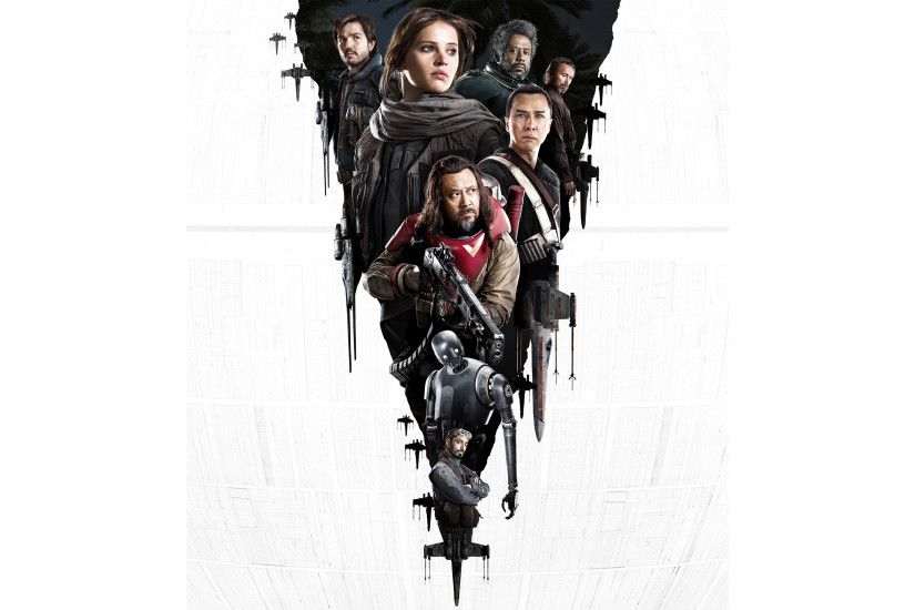 Movie - Rogue One: A Star Wars Story Jyn Erso Felicity Jones Diego Luna  Captain
