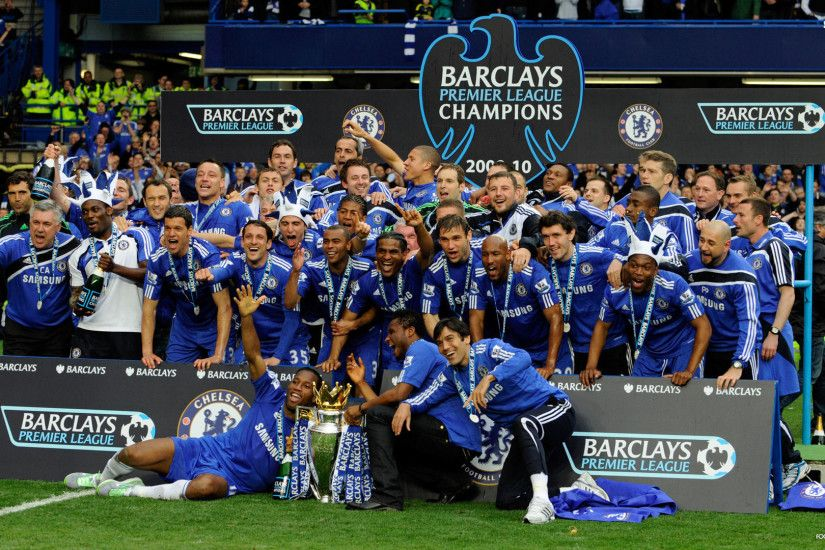 Chelsea Fc Players Celebrating. Wallpaper ...