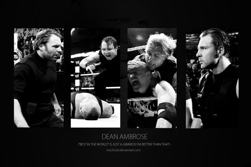 ... Dean Ambrose Wallpaper - Better than You! by MrS3nzei