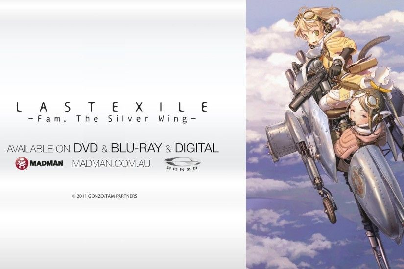 Last Exile -Fam, The Silver Wing- Official Trailer