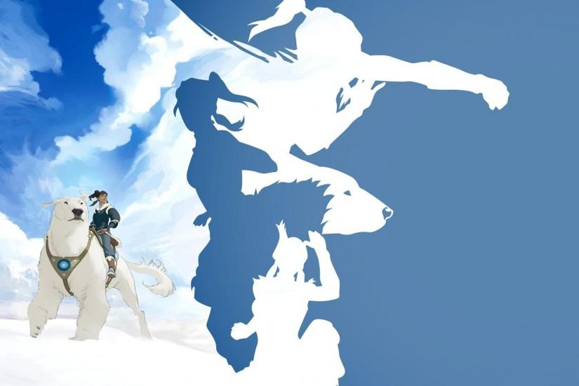 [No Spoilers] I combined two of my favorite Legend of Korra wallpapers.