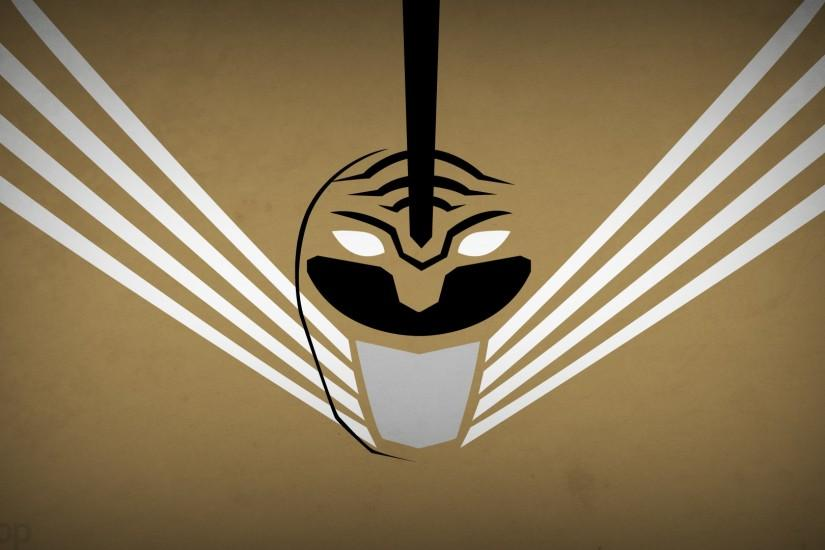 minimalism, power rangers, white ranger wallpaper - ForWallpaper.com .