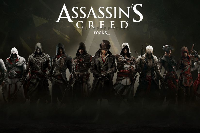 ... Assassin's Creed HD wallpaper 4 by teaD by santap555