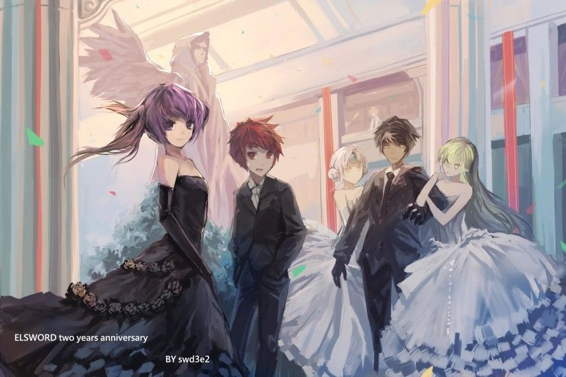 Grand Ball - Aisha, Elsword, Eve, Raven, Rena by