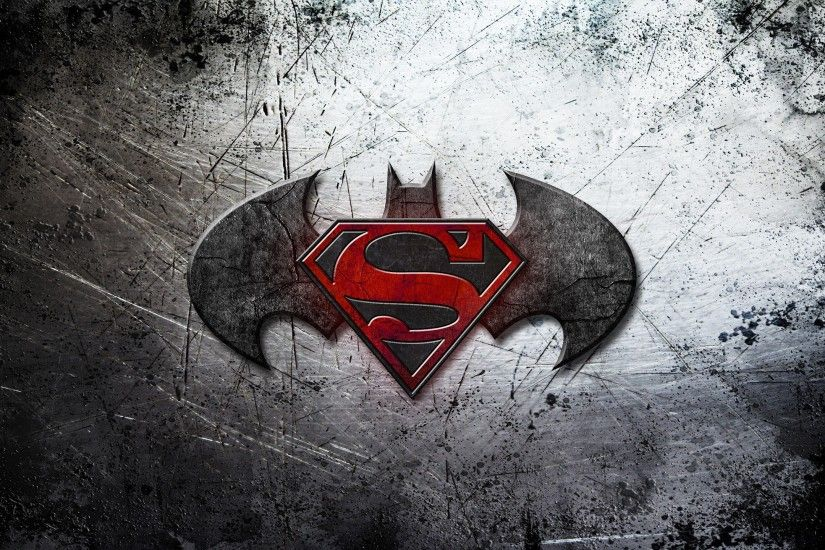 Batman Vs Superman Logo Wallpaper HD Background HD Wallpaper