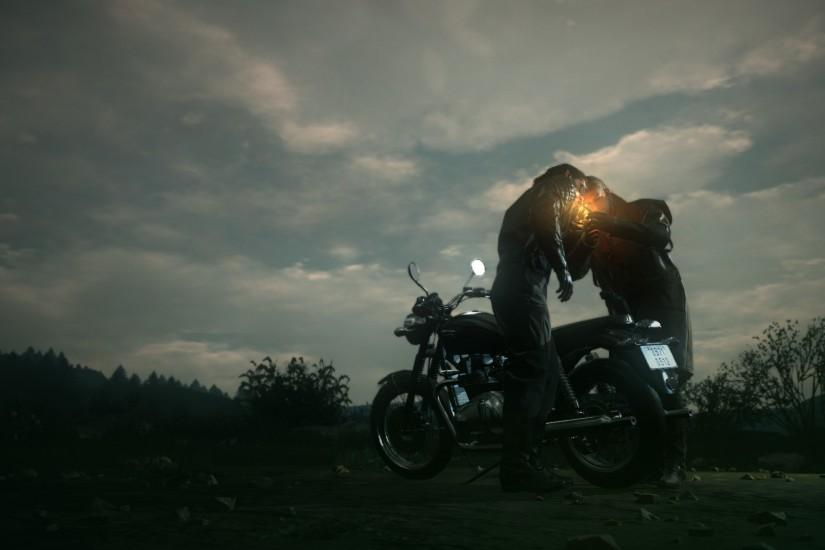 I Thought This Makes for a Good Wallpaper (Big Boss & Ocelot, Cigar &  Motorcycle)