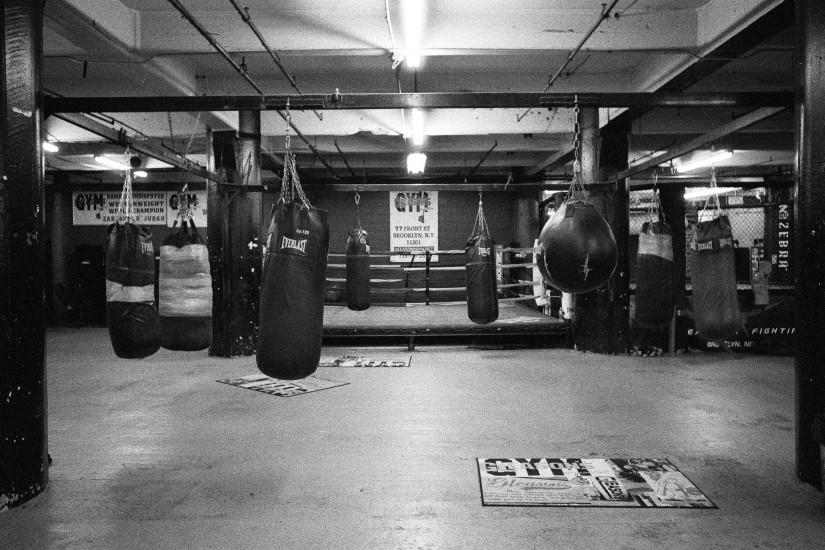 Black And White Boxing Gym Gleason's gym is not just any