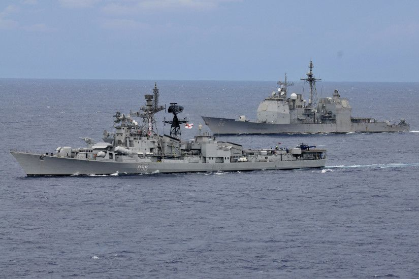 Exercise Malabar 2012 between Indian Navy & the US Navy [Wallpaper] ...