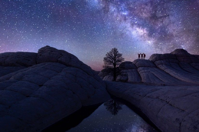 Preview wallpaper milky way, sky, astrophotography 3840x2160