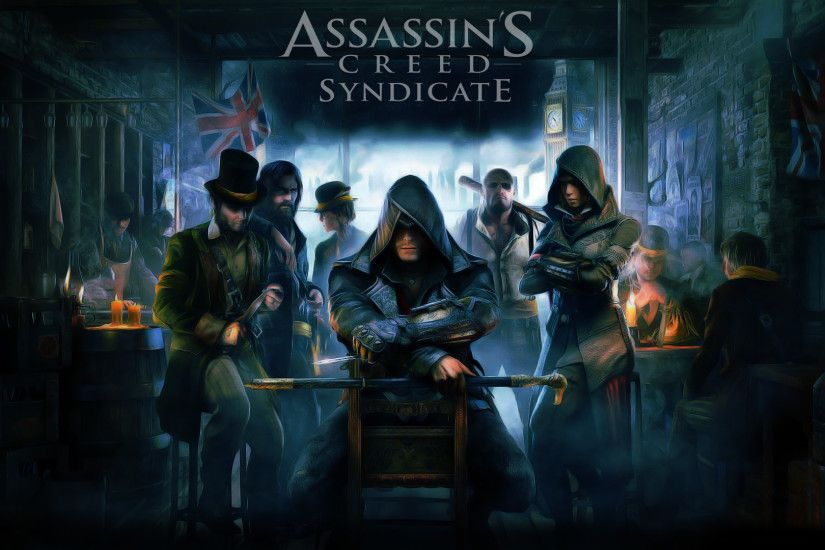 Assassins Creed Syndicate Wallpaper / Cartoon Edit by Dougleino ...