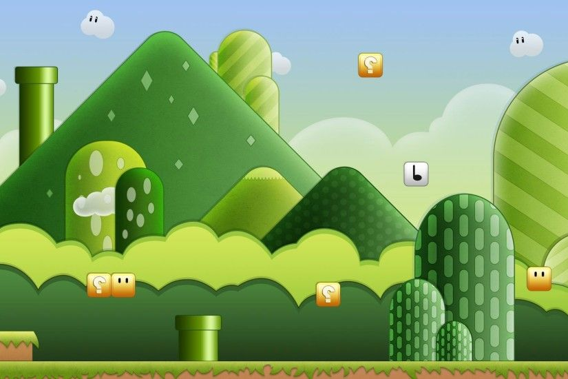 Super Mario World wallpaper 1280x800 Super Mario World wallpaper .