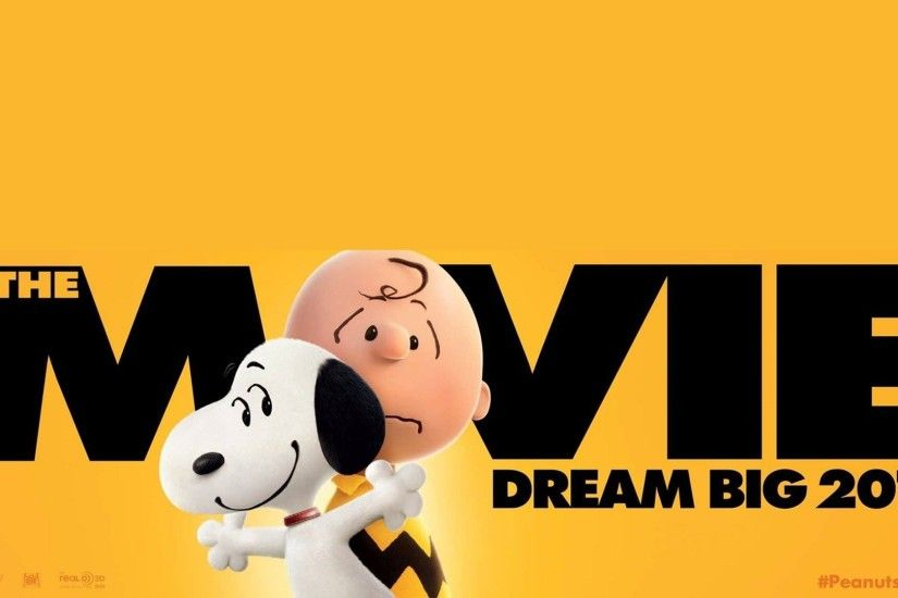 The Movie Snoopy And Charlie Brown Wallpaper