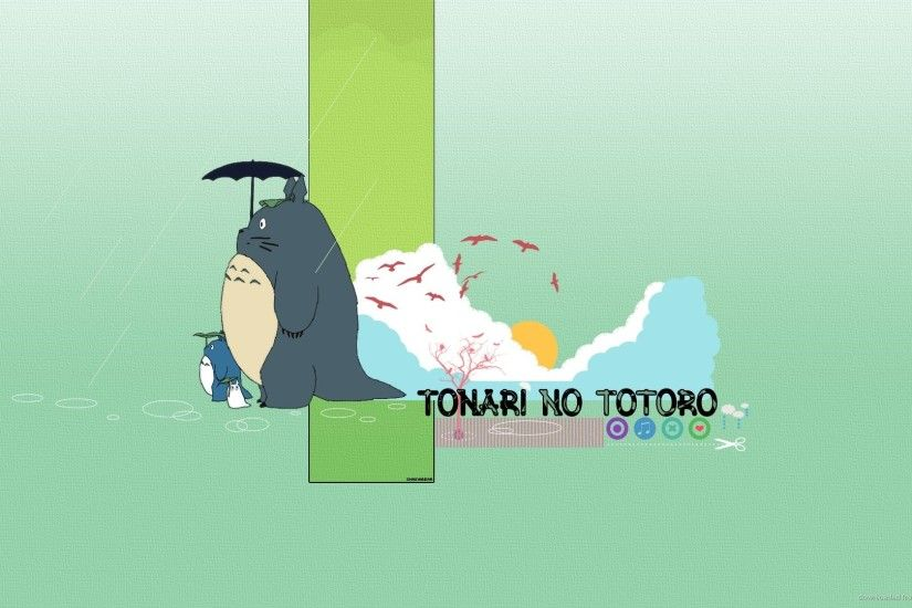 HD Tonari no Totoro wallpaper