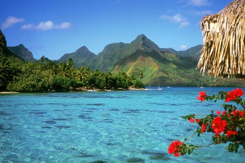 Bora Bora Best Beach Wallpaper