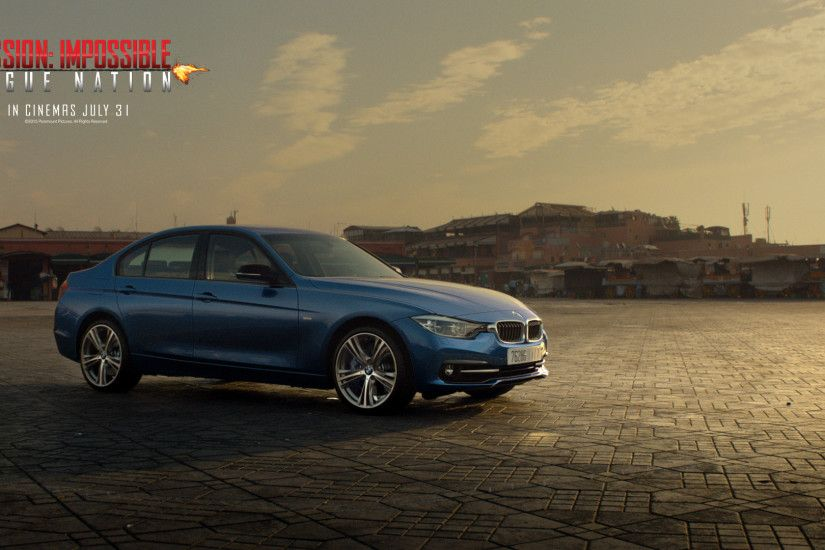 Mission Impossible 5 Rogue Nation Wallpaper BMW 3er 340i 750x422